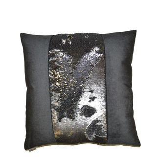 Hylee II Pewter Accent Pillow