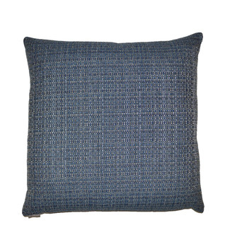 Jackie-O Denim Accent Pillow