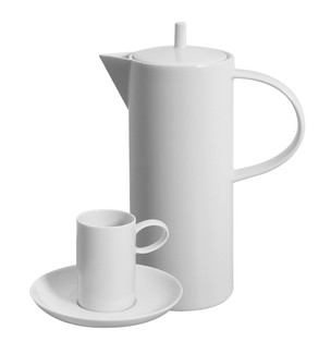 Domo White 15 Piece Coffee Set