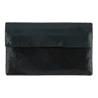 TYRA FOLD CLUTCH - BLACK