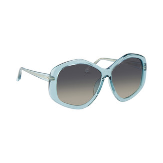Linda Farrow 467 C7 Sunglasses in Mineral