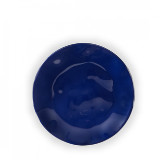 Ruffle Round Bread & Butter Plate- Sapphire