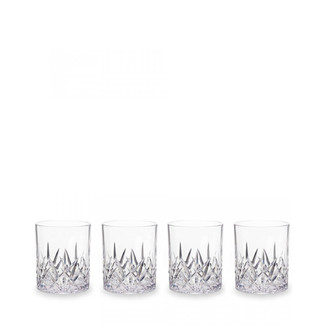 Aurora Crystal Clear DOF Tumblers- Set of 4