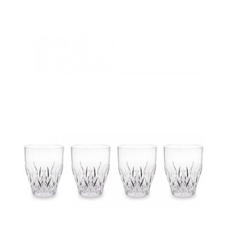Aurora Crystal Clear Wine Glasses- Set of 4