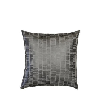 Silver Mineral Stripe Accent Pillow