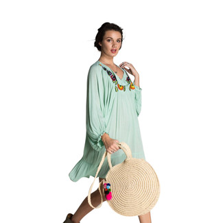 Milagro Natural Straw Bag