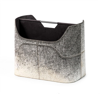 Anja Grey Magazine Rack