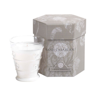 White Hibiscus Grand Casablanca Candle