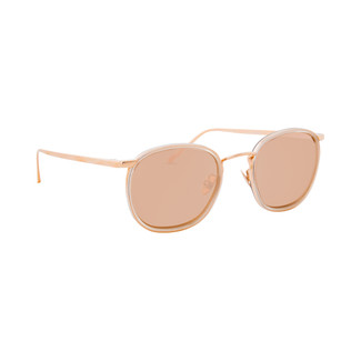 Linda Farrow 562 C3 Oval Sunglasses