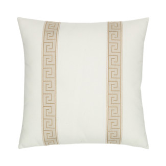 Balkan Key Accent Pillow