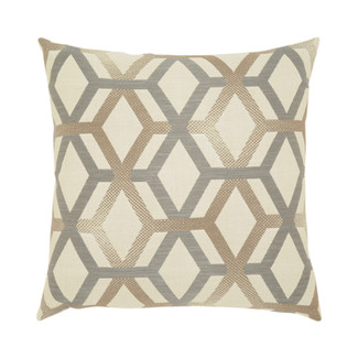 Lustrous Lines Accent Pillow
