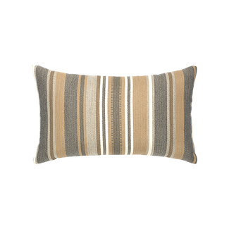 Grigio Stripe Lumbar Accent Pillow