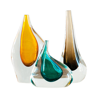 Droplet Czech Glass Vessels Collection Set