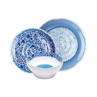 Heritage 12PC Melamine Dinnerware Set