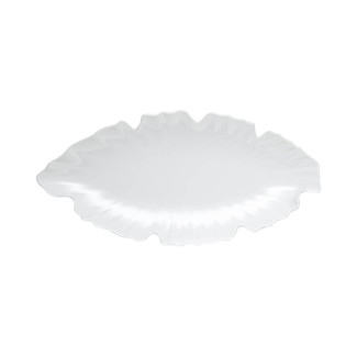 Zen Small White Leaf Platter