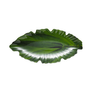 Zen Small Green Leaf Platter
