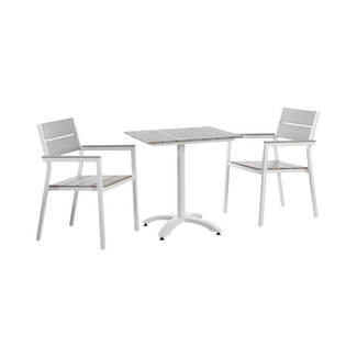 Maine 3 Piece Outdoor Bistro Dining Set