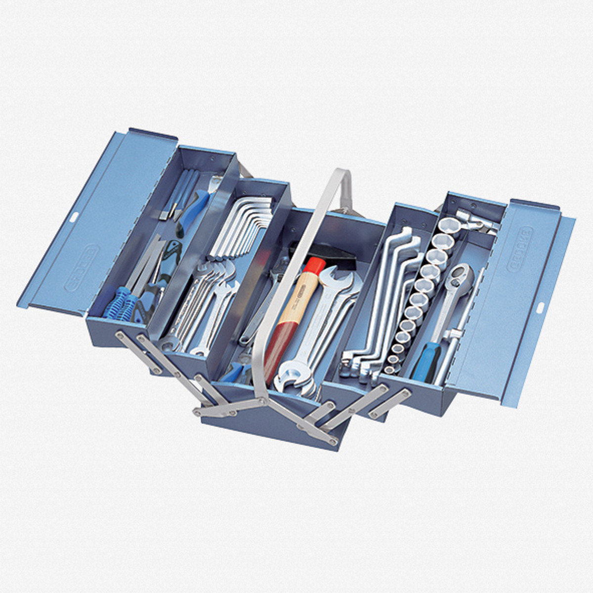 Gedore 1151 A-1265 Tool box with assortment S 1151 A - KC Tool