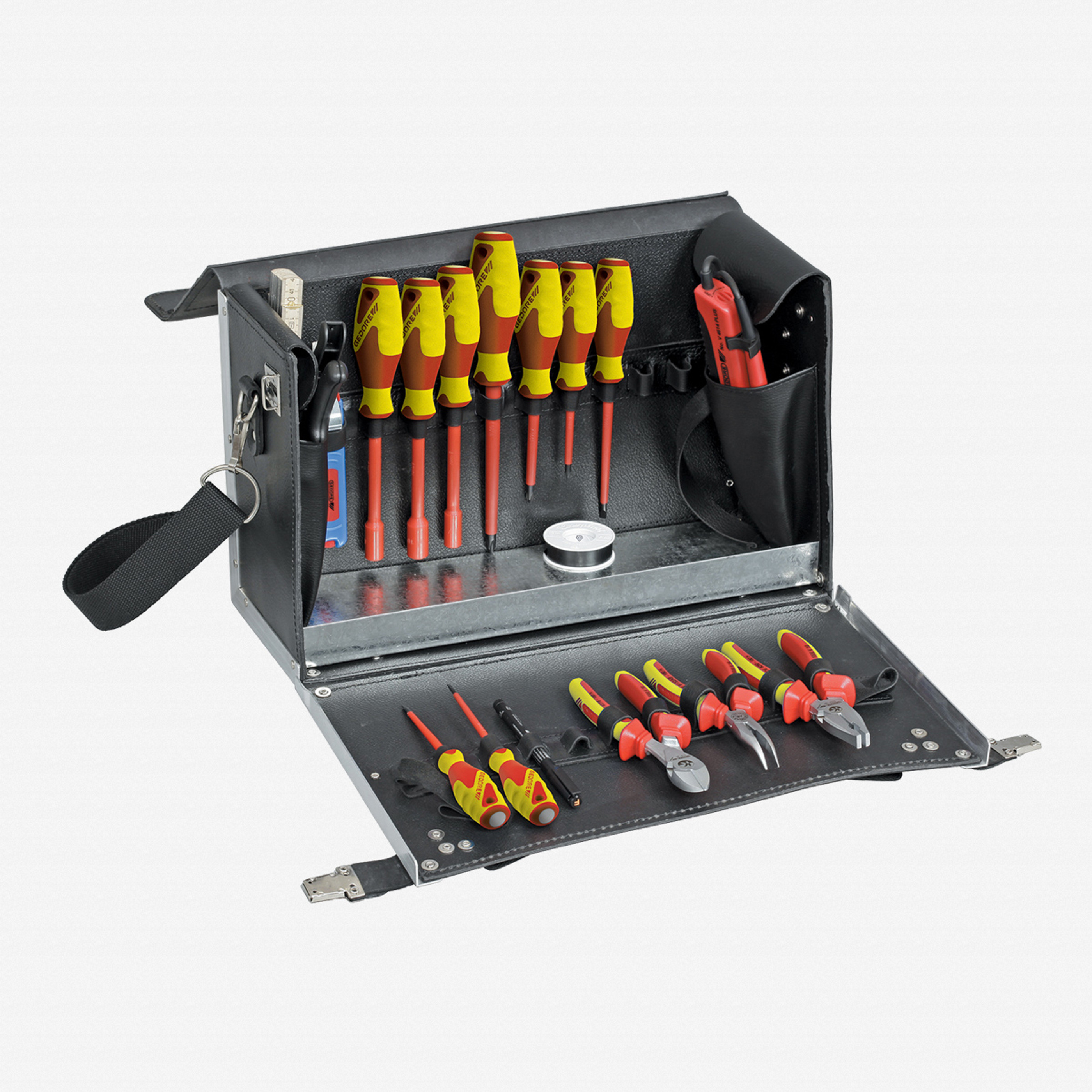 Gedore 1091 Electricians Tool Case 18 Pcs