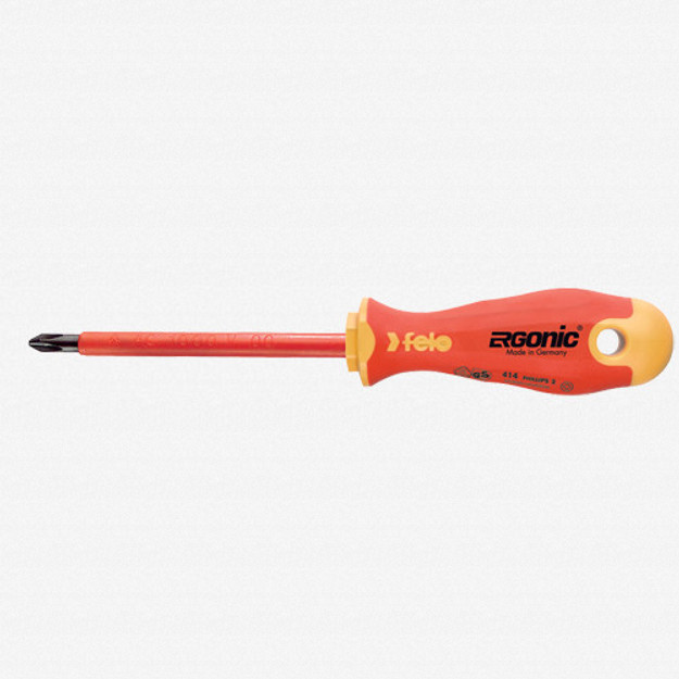 Felo 53155 Ergonic Insulated #2 Phillips Screwdriver