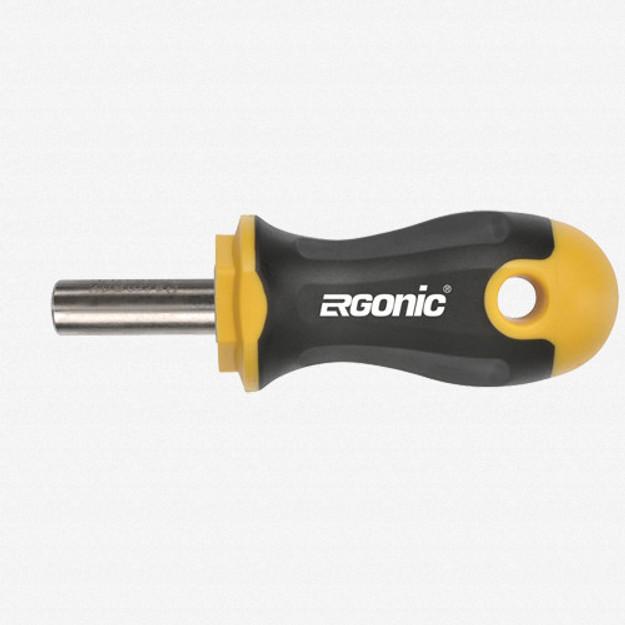 """Felo 61727 Magnetic Ergonic Stubby Bitholder 1/4"""""""