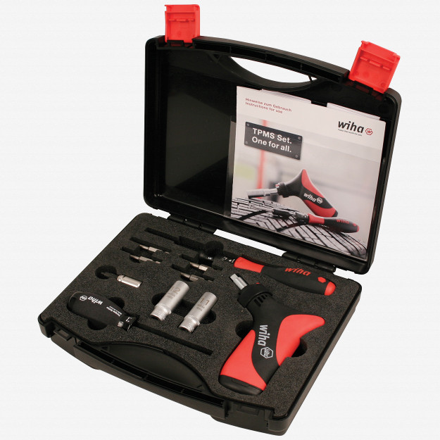 Wiha 28580 12 Piece Torque Controlled TPMS Professional Installers Kit
