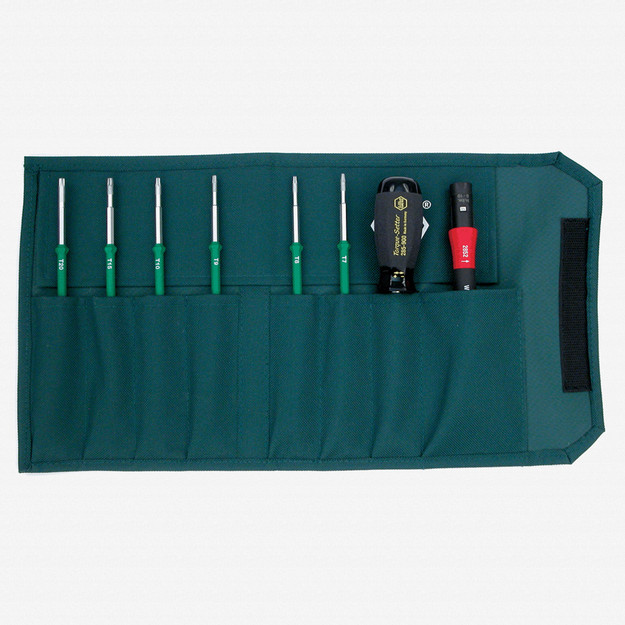 Wiha 28690 8 Piece Torque Screwdriver TorxPlus MagicSpring Pouch Set 10-50 in-lbs. - KC Tool