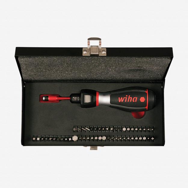 Wiha 28892 52 Piece Digital iTorque Box Set 7-26 in-lbs. (0.8-2.9 Nm)
