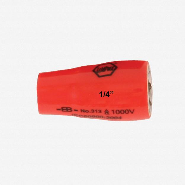 "Wiha 31334 13mm x 1/4"" Drive Insulated Socket"