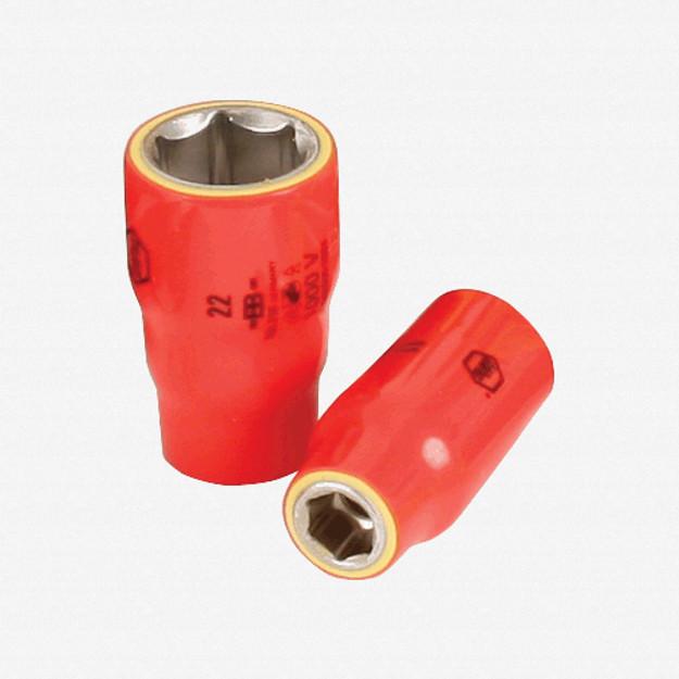 "Wiha 31621 21mm x 1/2"" Drive Insulated Socket"
