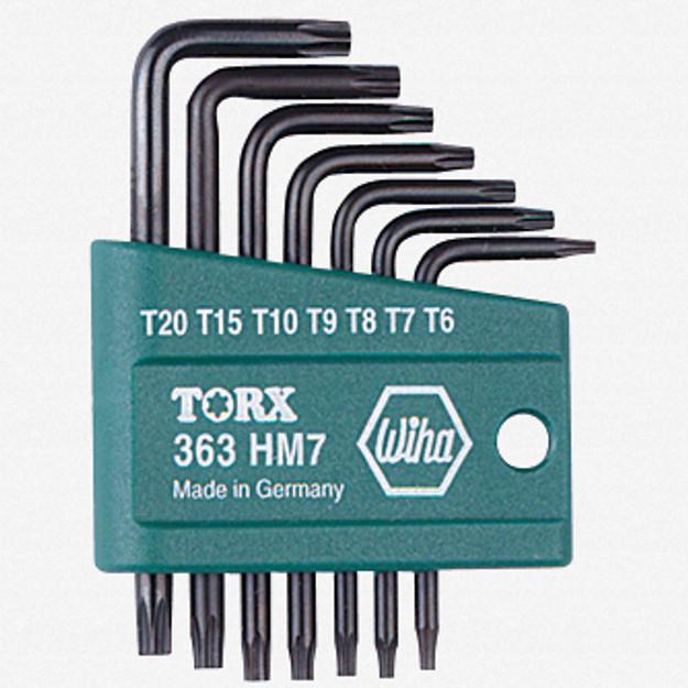 Wiha 36392 7 Piece Torx L-Key Set w/ Holder