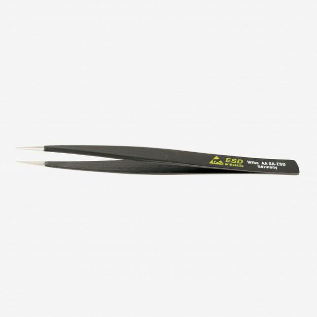 Wiha 44501 Universal Fine Point AA SA  - 130mm Tweezers