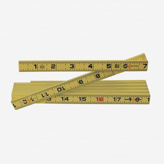 Wiha 61619 MaxiFlex Folding Ruler 6' Outside Reading