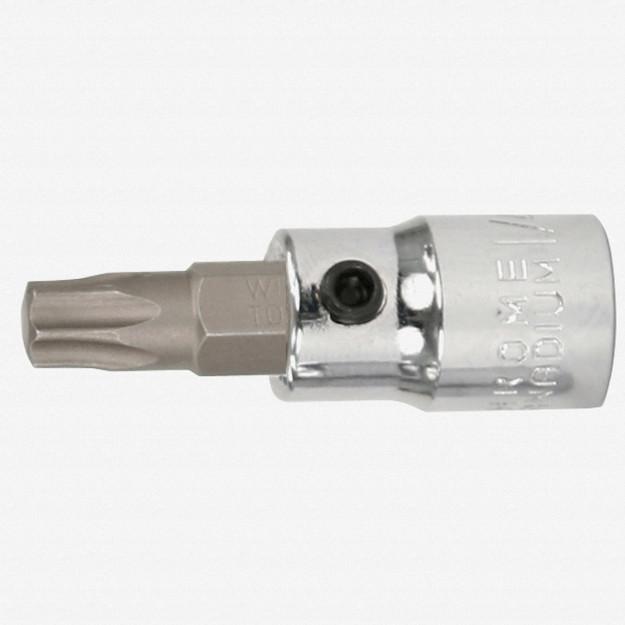 """Wiha 76131 T40 Torx 1/4"""" Drive Bit Socket"""