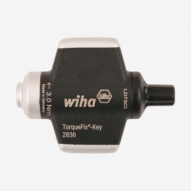 Wiha 28360 4.0 Nm (35.4 in-lbs) TorqueFix Wing Screwdriver Handle