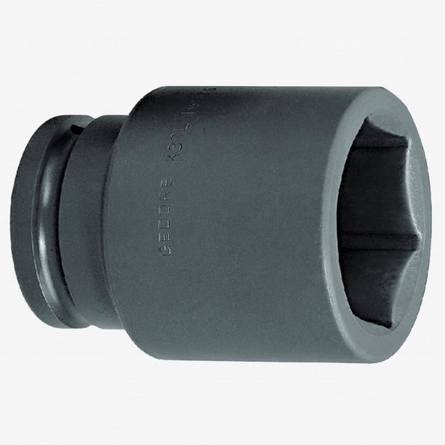 "Gedore K 37 L 41 Impact socket 1.1/2"", long 41 mm"