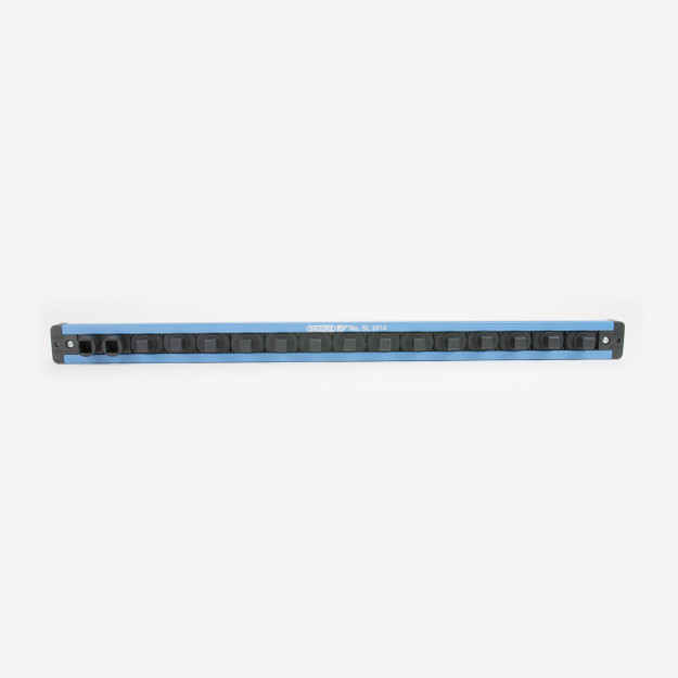"""Gedore SL 3014 Tool holding rail 3/8"""", magnetic, 480 mm - KC Tool"""