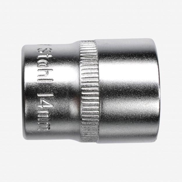 "Felo 61703 6 Point 1/4"" Socket - 10mm"