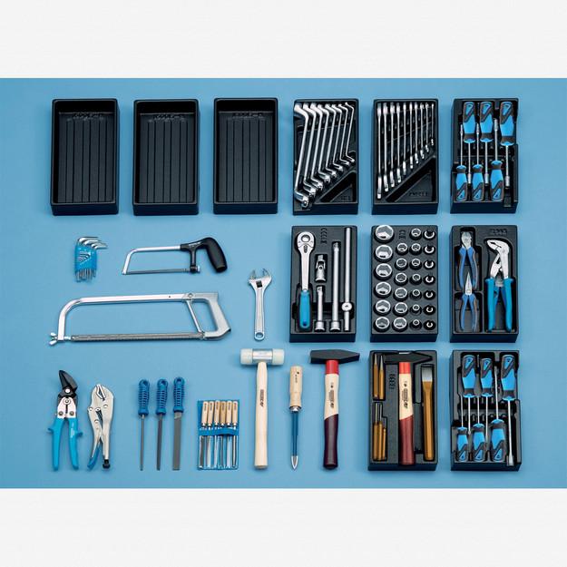 Gedore S 1400 G Universal tool assortment 100 pcs