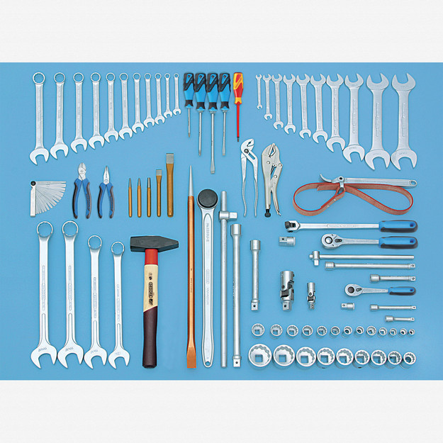 Gedore S 1005 A Tool assortment 81 pcs INCH