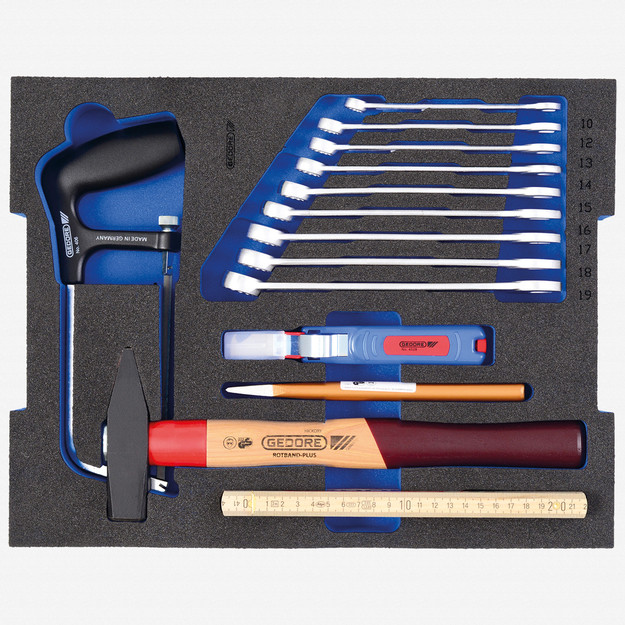 Gedore 1100 CT2-BASIC Tool assortment STARTER in 2/2 L-BOXX 136 Module