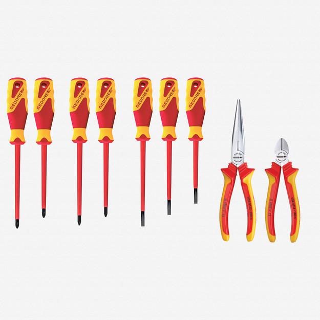 Gedore S 1100 W-002 VDE Pliers/screwdriver VDE assortment