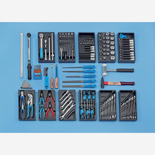 Gedore S 1019 Tool assortment CARS, 157 pcs - KC Tool