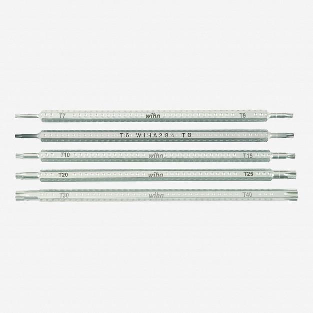 Wiha 28485 Torx Drive-Loc 5 Blade Set - KC Tool