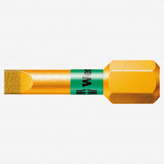 Wera 056172 0.8 x 5.5 x 25mm Slotted BiTorsion Diamond Coated Bit - KC Tool