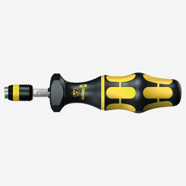 Wera 074730 ESD Safe Adjustable Torque Screwdriver 0.3 - 1.2Nm