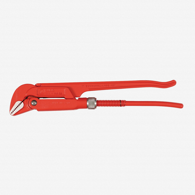 "Wiha 32976 2.6"" 45 Degree Pipe Wrench"