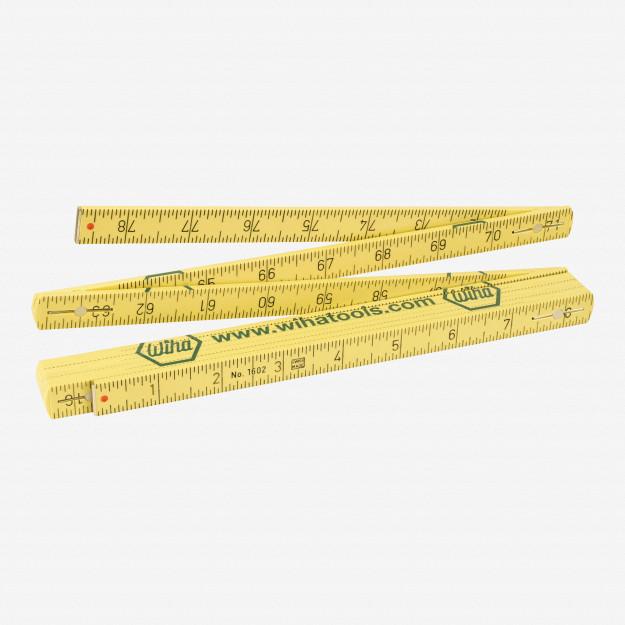 Wiha 61662 MaxiFlex Folding Ruler Metric/Inch