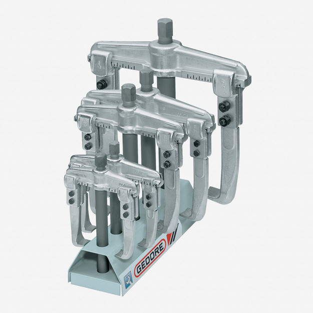 Gedore 1.06/ST Puller set with display stand 1.06/1-1.06/3