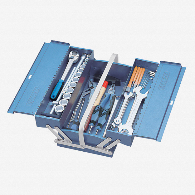 Gedore 1151 A-1263 Tool box with assortment S 1151 A - KC Tool